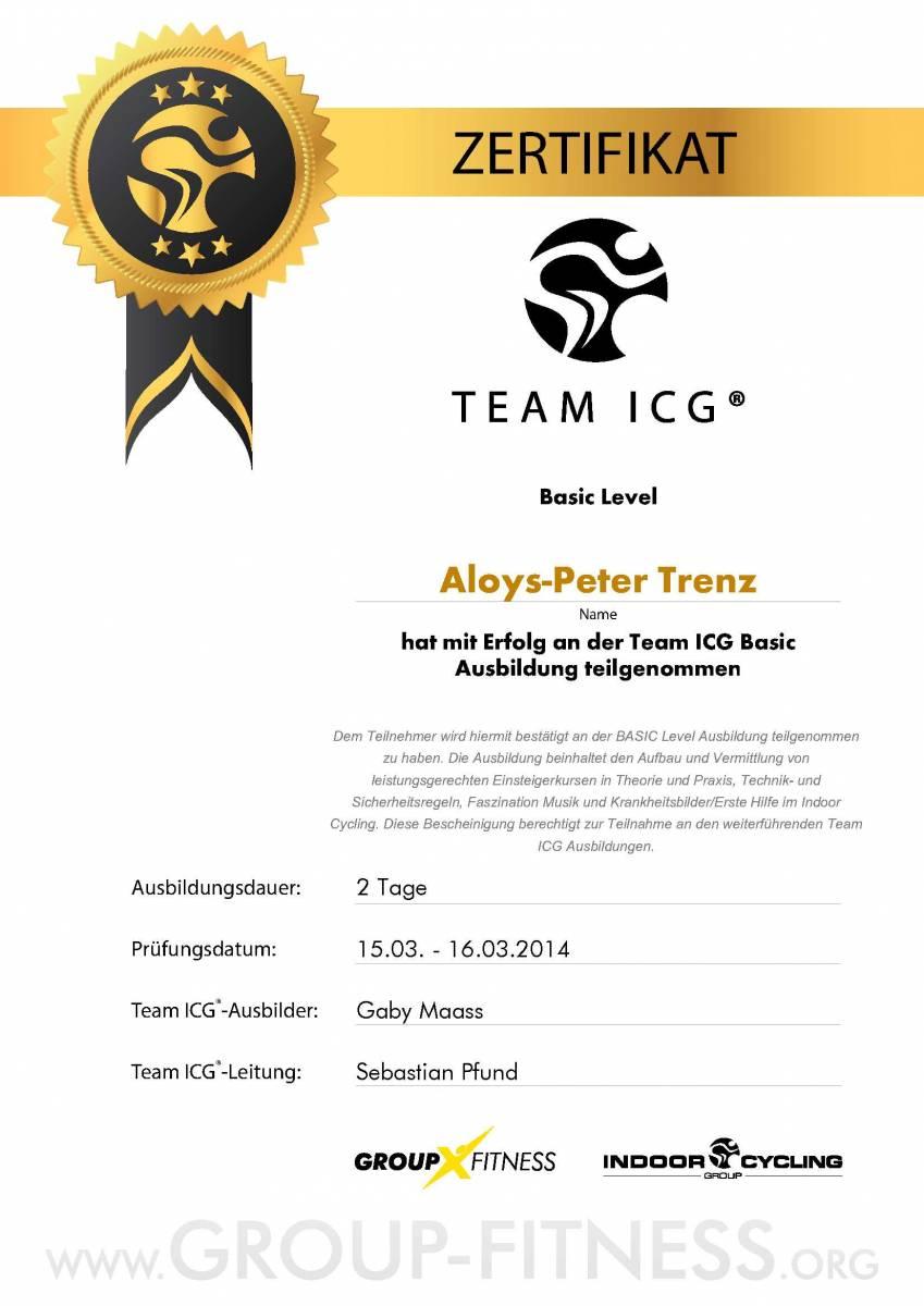 Aloys-Peter Trenz Basic Level